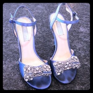 Betsey Johnson blue dress shoes